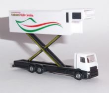 Emirates Flight Catering Airbus A380 Catering Truck Model Scale 1:200 559607  E